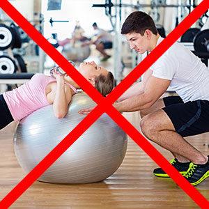 Ohne Fitness Studio
